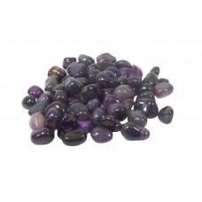 Agata Roxa  Pedra Rolada Semi Preciosa