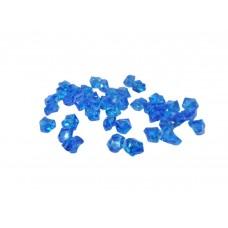 Cristal Acrilico Pedra De Gelo Azul Decoração