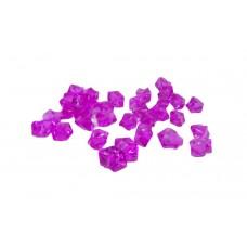 Cristal Acrilico Pedra De Gelo Rosa Pink Decoração