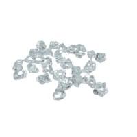 Cristal Acrilico Pedra Gelo Transparente Decoração Arranjos