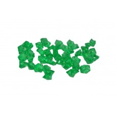 Cristal Acrilico Pedra De Gelo Verde Decoração