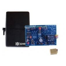 Receptor Controle Remoto Mono Custon Code Learned IPEC 433Mhz